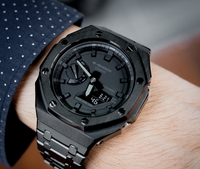 G-Shock GA-2100 Customized Black AP Style