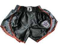 Booster Shorts Retro Shield 2 Grey