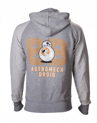 Star Wars - Hoodie Grey BB-8 Astromech Droid