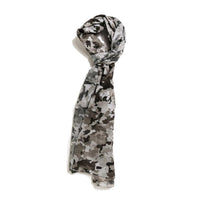 Scarf Affair Grey Camouflage