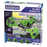 Thames & Kosmos - MAKERSPACE Alien Robots