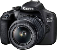 EOS 2000D DSLR With EF-S 18-55mm f/3.5-5.6 IS III Lens 24.1MP, Built-In Wi-Fi And NFC