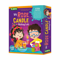 Explore - My Rose Candle Making Lab - STEM Learner - Multicolor for kids, Age 6+