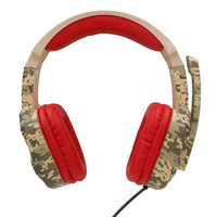 Ipega: PG-R005 - Noise Cancelling Gaming Headset (Camo Red)