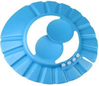 Baby Shower Cap – Adjustable Using Buttons – (Blue)