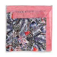 Scarf Affair Zibra-Flamingo Border Scarfs