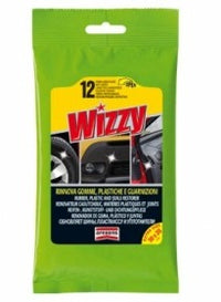 Arexons Wizzy Rinnova Tyre Shine Wipes (12 Wipes/pack)