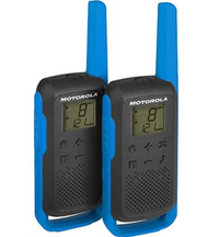 Motorola Talkabout Walkie Talkies T62 Twin Pack With Charger Blue UK