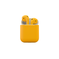Merlin Craft Apple Airpods 2 Wireless Yellow Matte