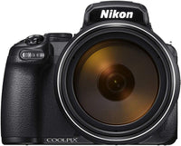 Nikon P1000 16MP 125 x Optical Zoom Point and Shoot Camera Black