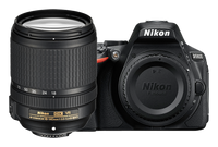 Nikon D5600 DSLR Camera with AF-S DX NIKKOR 18-140mm f/3.5-5.6G ED VR Len Black