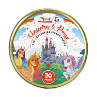 CocoMoco Kids - Unicorn and Pony Jigsaw Puzzle 30 pieces, Return Gift for 2-4, 5-6 year old Kids (multi)