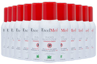 ExcelMed Hand Sanitizer Spray 100ml (Package of 12), Advanced Formula