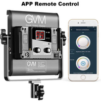GVM 2 Pack LED 480LS-B2L KIT Video Lighting Kits with APP Control, Bi-Color