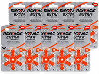 Rayovac Extra Advanced Hearing Aid Batteries Size 13 – 60 Batteries