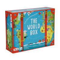 CocoMoco Kids - World Box Geography Educational Toy