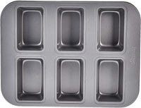 Prestige Non Stick 6 Cup Mini Loaf Pan
