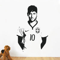 Spoil Your Wall - Wall Decal Neymar Black 90x60centimeter