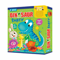 Explore - Dinosaur Party - Perfumed Dough - Multicolor for kids, Age 3+