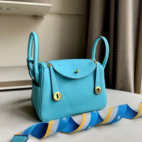 Littlebunnystore LD 26 cm togo PU in light blue