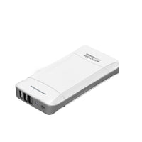 Power Bank, Ultra-High Capacity 20800 mAh Power Bank With 3 USB Ports 3.1A Portable Charger, Promate Provolta-21, White