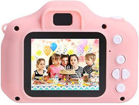 Mini Rechargeable Photo/Video Camera For Kids,Suitable For Ages 3 + (Pink)