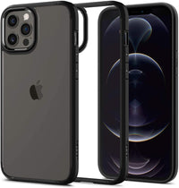 Spigen Ultra Hybrid designed for iPhone 12 Pro MAX case/cover - Matte Black