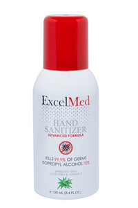 ExcelMed Hand Sanitizer Spray 100ml (Package of 1), Advanced Formula