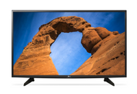 LG 49-Inch Full HD LED TV With Built-In HD Receiver 49Lk5100 - Black