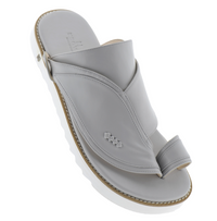 Neqwa Arabic Traditional Sandals Ibiza - Pearl Leather