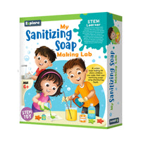 Explore - My Sanitizing Soap Making Lab - STEM Learner - Multicolor for kids, Age 6+