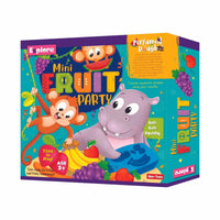 Explore - Mini Fruit Party - Perfumed Dough- Multicolor for kids, Age 3+