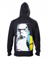 Hoodie Black Stormtrooper at Back