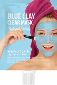 SHES Lab Blue Clay Clear Mask