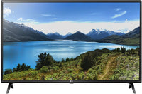 LG 49 Inch LED TV Ultra HD 4K Smart With Built In Receiver - 49UM7340