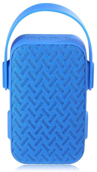 Portable MY220BT (AIBIMY) Bluetooth Speaker With Mini Microphone – (Blue) By SHOP ON THE GO