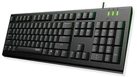 RAPOO NK1800 Keyboard Wired USB - AR