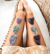 Fluorite Gua Sha The at Home Beauty Tool for Glowing and Firmer Skin