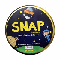 CocoMoco Kids - SNAP Solar System & Space Flash Card Game
