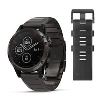 Garmin Fenix 5 Plus Carbon Grey DLC Titanium with DLC Titanium Band