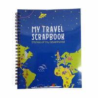 CocoMoco Kids - Travel Scrapbook with Stickers