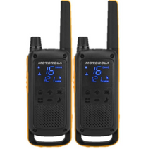 Motorola Talkabout Walkie Talkies T82 Extreme Twin Pack With Charger UK