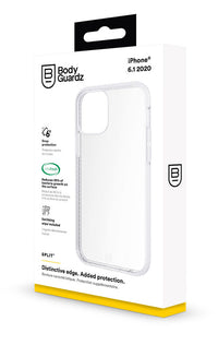 BodyGuardz Split designed for iPhone 12 and iPhone 12 PRO case cover (6.1 inch) - Clear
