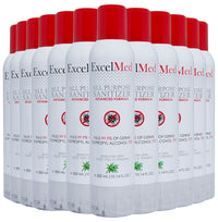 ExcelMed All Purpose Sanitizer Spray 300ml (Package of 12), Advanced Formula