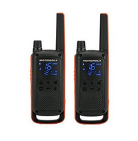Motorola Talkabout Walkie Talkies T82 Twin Pack With Charger UK