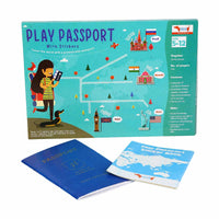 CocoMoco Kids - Play Passport with Stickers Activity Kit