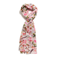 Scarf Affair Pink Rose Scarf