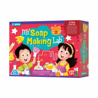 Explore - My Soap Making Lab - STEM Learner - Multicolor for kids, Age 6+