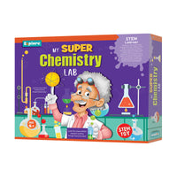 Explore - My Super Chemistry Lab - STEM Learner - Multicolor for kids, Age 6+