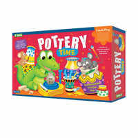 Explore - Pottery Time - Kreato Play - Multicolor for kids, Age 6+
